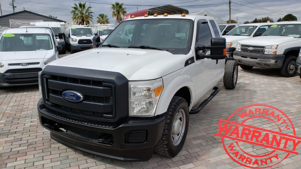 2012 FORD F350 XL SUPER DUTY,  6.2 V8, 4X2