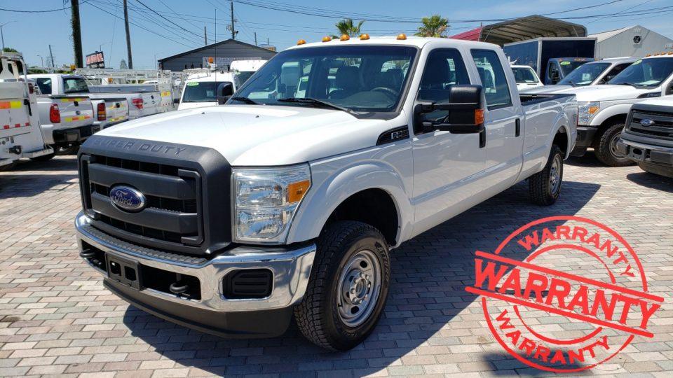 2012 FORD F250 XL SUPER DUTY, CREW CAB, 6.2 V8, 4X4, 8 FT BED