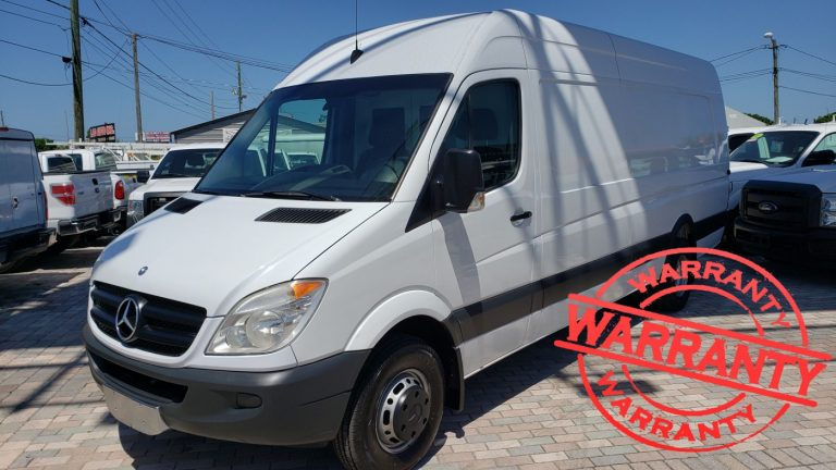 2012 MERCEDES-BENZ SPRINTER 3500 EXTRA LONG, DUALLY , 3.0 V6 DIESEL, 84  K MILES