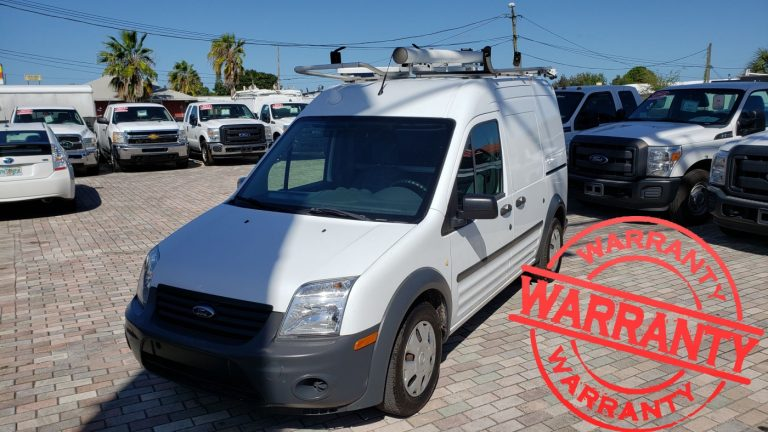 2011 FORD TRANSIT CONNECT XL, 2.0, 4 CYLINDER , 71 K MILES